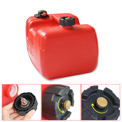 12L Portable Fuel Tank w/Connector 3.2 Gallon for Yamaha Boat Outboard machine