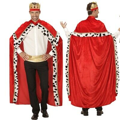 Königs Umhang mit Krone - Gr. XL (54-58) - Biblischer König - Biblische Kostüm