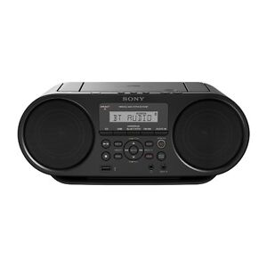 Sony  ZS-RS60BT CD Boombox w/Bluetooth, NFC, USB and AUX conn