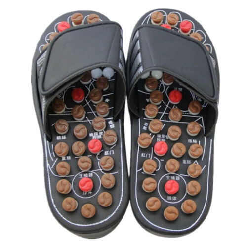 reflexology sandals foot massage slipper acupressure therapy