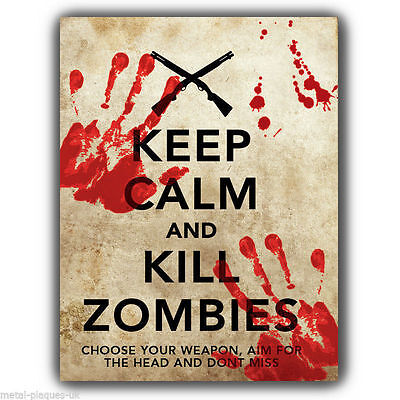 - Zombie Wall Plaque