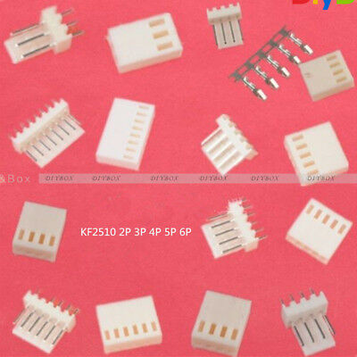10pcs 2p3p4p5p6p8p Kf2510 2.54mm Pin Headerterminalhousing Connector Kit
