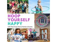 Rise Hoop Dance Says Hoop Yourself Happy! Hula Hooping Parties, Workshops and Events for all Ages