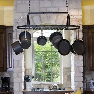 Premier Expandable Hanging Oval Pot Rack by Advantage Components NEW