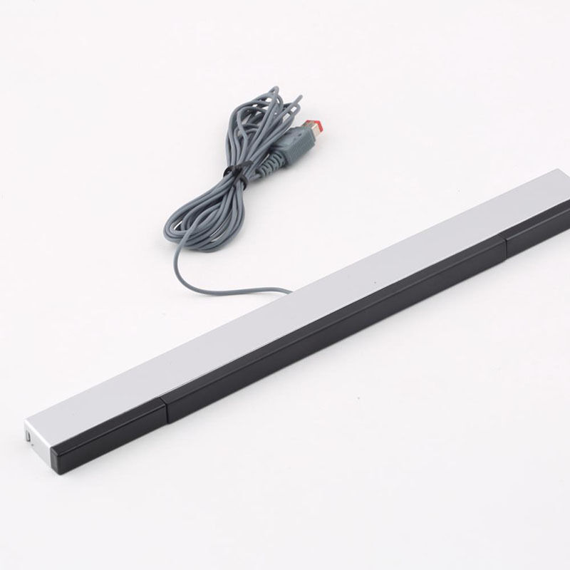 Practical Wired Sensor Bar with USB Cable for Nintendo Wii / Wii U / PC  JhJKUS