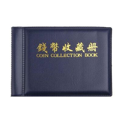 Oz Soporte 60 Monedas Colección-Álbum Almacenamiento Dinero Penny Libro Fundas
