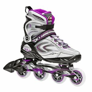 Purple and Grey Inline Skates Size 10