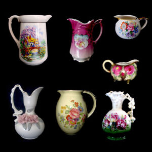 7 Decorative Jugs