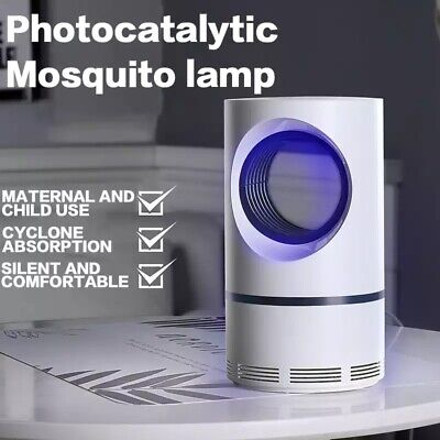 Electric Fly Bug Zapper Mosquito Insect Killer LED Light Trap Pest Control (Lighted Controller)
