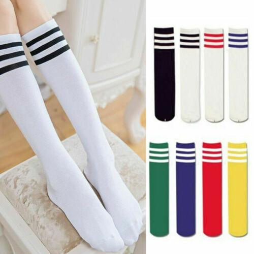 Vintage Long Socks Damen/Herren Socken Streifen Knielang Lang Kniestrümpfe