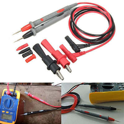 20a Probe Test Lead Alligator Clips Agilentflukeideal Clamp Cable Multimeter