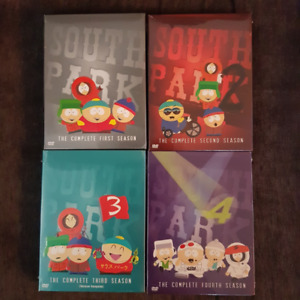 South Park seasons 1-4 on DVD *brand new*