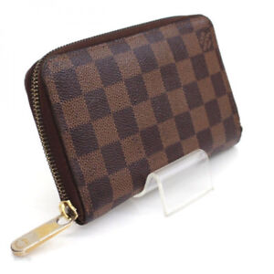 Louis Vuitton Damier Zippy Compact Wallet  Authentic