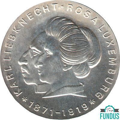 DDR 20 Mark Karl Liebknecht & Rosa Luxemburg 1971 J.Nr. 1533 st (422) online kaufen
