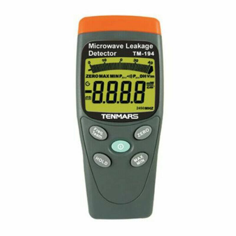 TENMARS TM-194 Backofen Mikrowelle Lecksucher Meter Tester 50 MHz ~ 3,5 GHz EMF