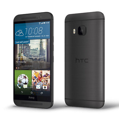 "5.0"" Quad-insides Smartphone HTC One M9 32GB 20MP T-Mobile Unlocked 4G Grey USA"