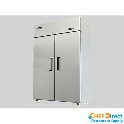 Atosa Mbf8005gr T Series 52 Two Door Reach In Refrigerator