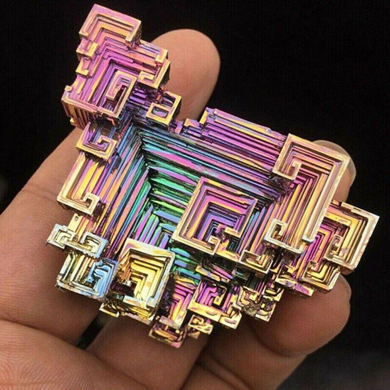 Natural Quartz Crystal Rainbow Cluster Mineral Specimen Healing Stone~