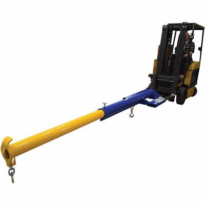 New Forklift Telescoping Jib Boom Crane Economaster Lm-ebt-6-24 6000 Lb