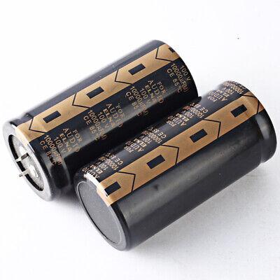 Japan 2pcs Elna Lao 10000uf 100v 10000mfd Audio Electrolytic Capacitor