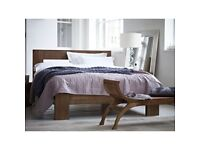 Raft Teak double bed