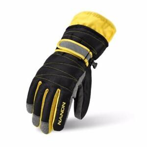 I Need This! NANDN Winter Skiing Gloves Windproof Waterproof Thickness Cotton Gloves Sports Ski Snowboard Adult Children