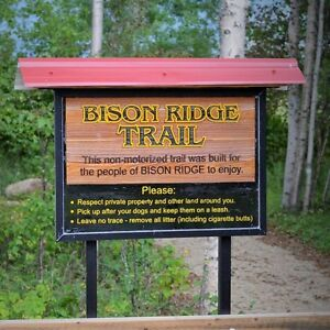 Reduced to sell - fully serviced acreage lots at Bison Ridge