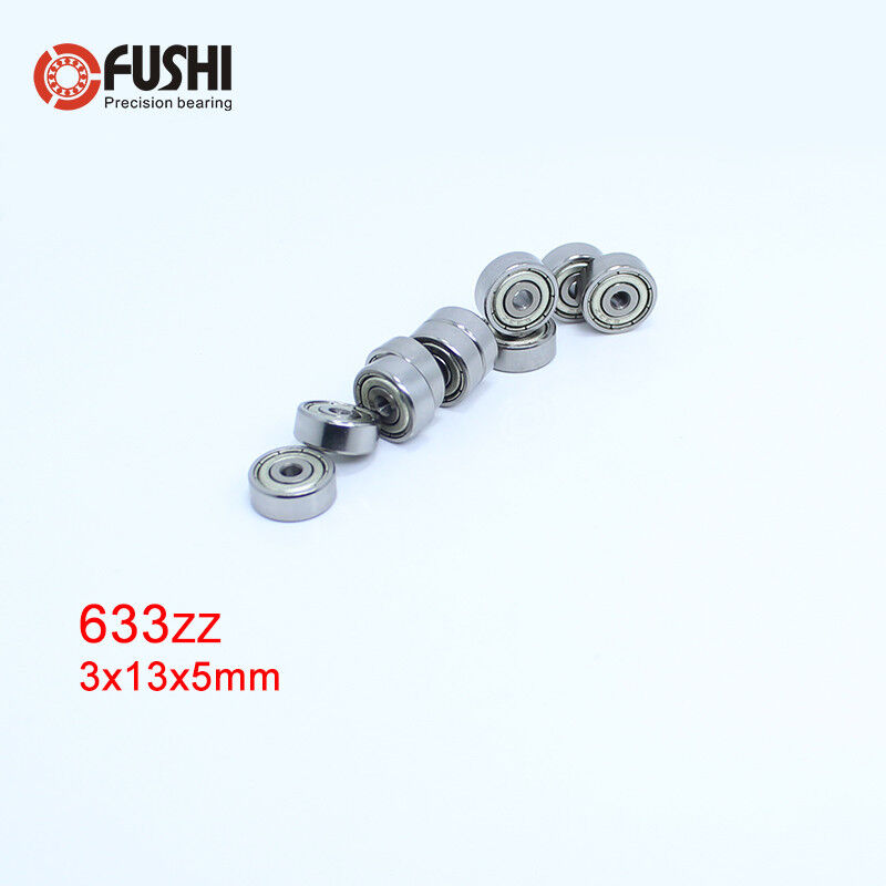 10PCS 682ZZ Bearing 2x5x2.3 mm ABEC-1 Miniature 682 ZZ Z Ball Bearings L-520ZZ