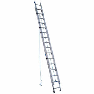 32 ft. Aluminum Extension Ladder with 250 lb. Load Capacity Type