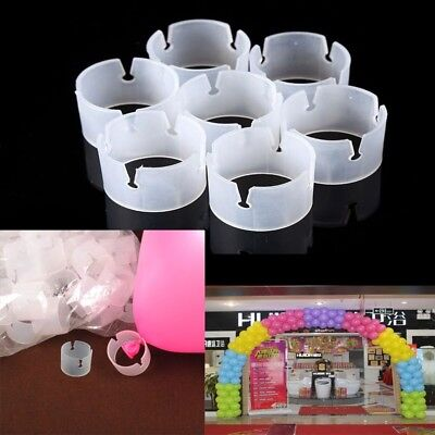 50Pcs Balloon Connector Clips Make Columns Arches Wedding Prom Party - Prom Supplies