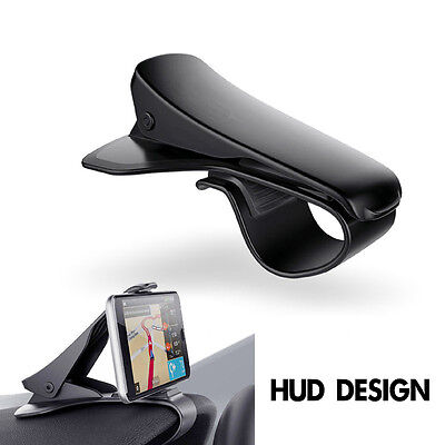 HUD Design All Car Dashboard Mount Holder Stand Clip for All Mobile Phone GPS