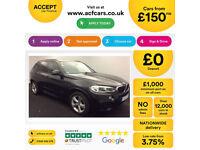 Black BMW X5 3.0TD Auto 2015 xDrive30d M Sport FROM £150 PER WEEK!