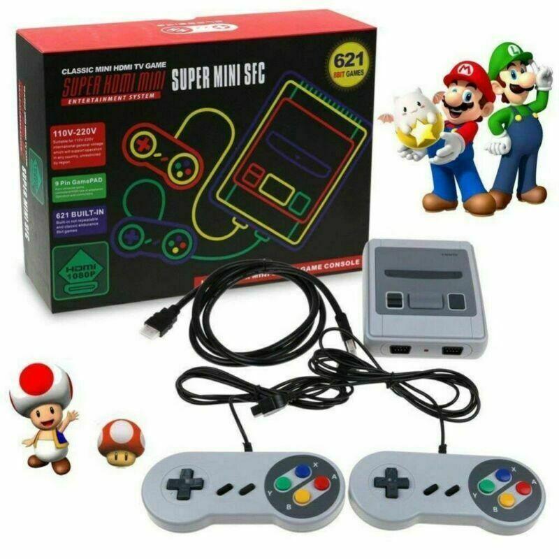 HDMI SUPER Classic Edition Konsole Mini Retro Eingebaute 621 Spiele für Nintendo