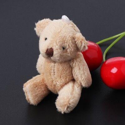 5PCS Kawaii Small Bears Plush Soft Toys Pearl Velvet Dolls Gifts Mini Teddy Bear - Small Teddy Bear