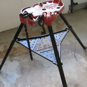 FOR SALE:  RIGID 3 LEGGED PIPE STAND