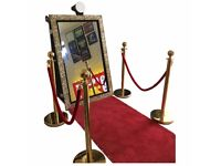 Magic selfie mirror for all wedding and party HIRE in London and surrounding areas