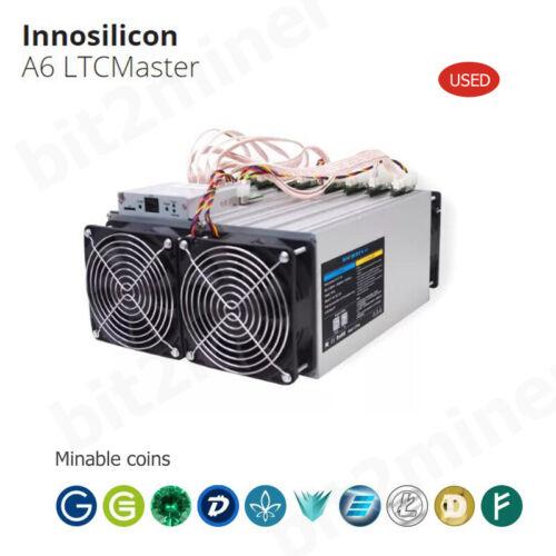 USED INNOSILICON  A6 1230MH/s 800W MINER LITECOIN LTC WITH PSU