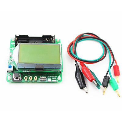 Graphic M8 Transistor Tester Inductance Capacitor Esr Meter Multifunction Tester