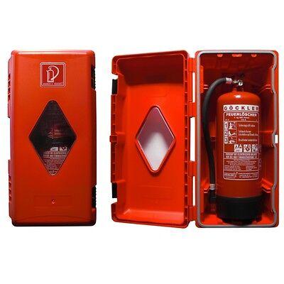 6kg Feuerlöscherschutzschrank Plástico Extintor Caja Armario