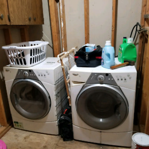 Free washer and dryer (whirlpool)