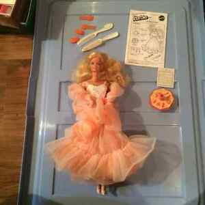 1985 Peaches and Cream Barbie Doll