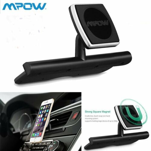 MPOW Magnetic Car Dash CD Slot Holder Mount Stand For iPhone