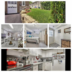 Bright basement apartment in NewMarket