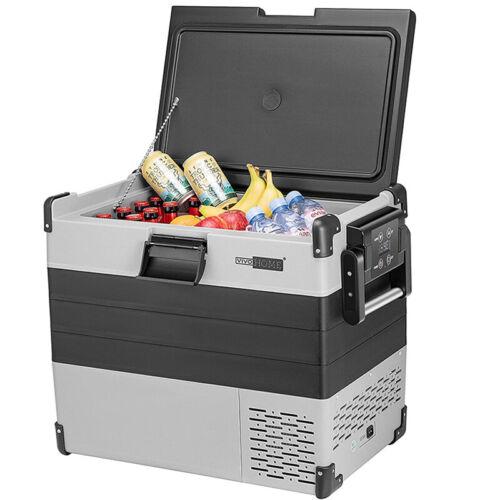 45QT Portable Electric Car Cooler RV Refrigerator Freezer w/ Basket InsulatedBag