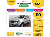 Kia Sportage 1.7CRDi ( 2WD ) 2011MY 1 FROM £51 PER WEEK.