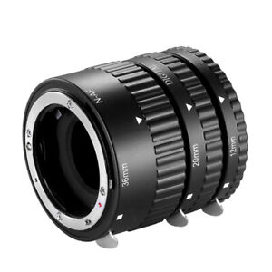 Neewer® 12mm,20mm,36mm AF Auto Focus ABS Extension Tubes Nikon