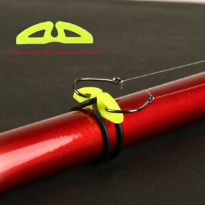 US Luya Beggar Fishing Hook Keeper For Lures Hooks on Fishing Rod Accessories