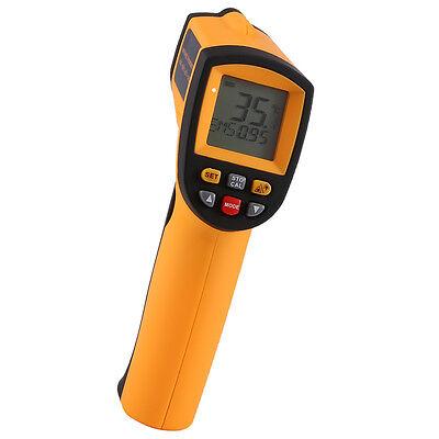 Liqoo Digital Infrarot Thermometer Temperaturmessgerät Laser -50°C bis 900°C
