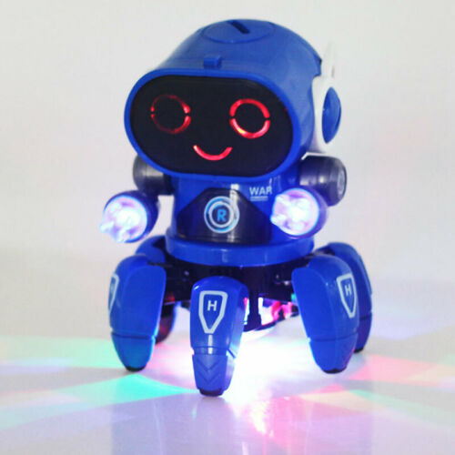 Toys Electric Robots LED Walking Dancing Robot Toy Best Gift For Boys Kids 3 US - $15.69