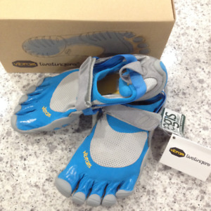 Vibram Fivefingers Treksport Womens Blue Grey